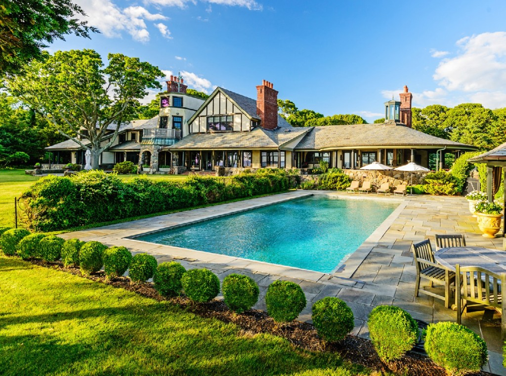 Sotheby's International Realty-Southampton Brokerage in New York recently sold this stone and stucco mansion for $31,750,000